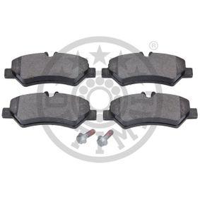 OPTIMAL Bremsbelagsatz, Scheibenbremse 2E0698451 für VW, MERCEDES-BENZ, AUDI, SKODA, SEAT bestellen