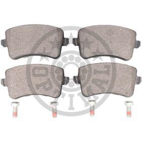 OPTIMAL Bremsbelagsatz, Scheibenbremse 8K0698451C für VW, AUDI, SKODA, SEAT bestellen