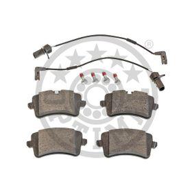 OPTIMAL Kit de plaquettes de frein, frein à disque 4H0698451D pour VOLKSWAGEN, AUDI, SEAT, SKODA acheter