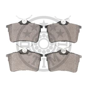 OPTIMAL Bremsbelagsatz, Scheibenbremse 1611837980 für PEUGEOT, CITROЁN, DS bestellen