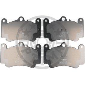 Bremsbelagsatz, Scheibenbremse OPTIMAL Art.No - BP-12523 kaufen