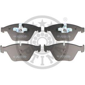 Bremsbelagsatz, Scheibenbremse OPTIMAL Art.No - BP-12539 OEM: 34116794917 für BMW, MINI kaufen