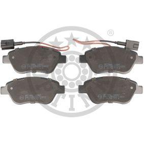 Bremsbelagsatz, Scheibenbremse OPTIMAL Art.No - BP-12557 OEM: 71770098 für FIAT, ALFA ROMEO, LANCIA kaufen