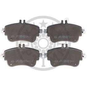 Bremsbelagsatz, Scheibenbremse OPTIMAL Art.No - BP-12610 OEM: A0064204820 für MERCEDES-BENZ kaufen