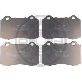 Bremsbelagsatz, Scheibenbremse OPTIMAL Art.No - BP-12620 OEM: 1329156 für FORD, KIA, JAGUAR kaufen