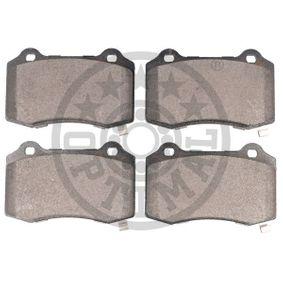 OPTIMAL Bremsbelagsatz, Scheibenbremse 68144432AA für HYUNDAI, CHEVROLET, JEEP, CHRYSLER bestellen