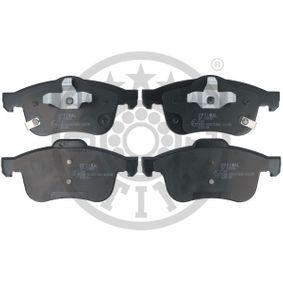 Bremsbelagsatz, Scheibenbremse OPTIMAL Art.No - BP-12650 OEM: 68211488AA für FIAT kaufen