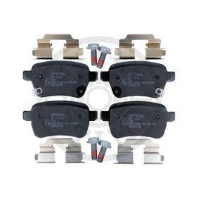 Bremsbelagsatz, Scheibenbremse OPTIMAL Art.No - BP-12693 OEM: 77366595 für FIAT, ALFA ROMEO, LANCIA, ABARTH kaufen