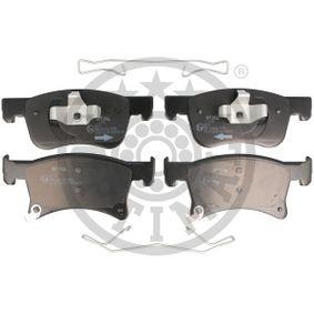 Bremsbelagsatz, Scheibenbremse OPTIMAL Art.No - BP-12698 OEM: 1605281 für OPEL, VAUXHALL kaufen