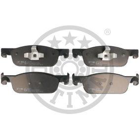 Bremsbelagsatz, Scheibenbremse OPTIMAL Art.No - BP-12699 OEM: 410605536R für RENAULT, DACIA, LADA, RENAULT TRUCKS kaufen