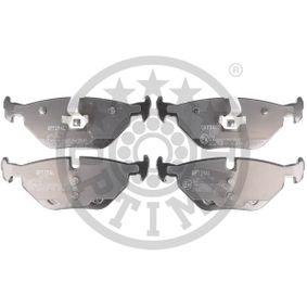 Bremsbelagsatz, Scheibenbremse OPTIMAL Art.No - BP-12702 OEM: 34212157574 für BMW, ROVER kaufen
