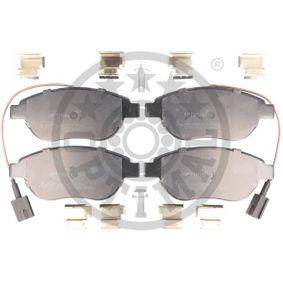 Bremsbelagsatz, Scheibenbremse OPTIMAL Art.No - BP-12715 OEM: 77365468 für FIAT, PEUGEOT, ALFA ROMEO, LANCIA, ABARTH kaufen