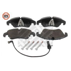 Bremsbelagsatz, Scheibenbremse MAPCO Art.No - 6665HPS OEM: 8R0698151A für VW, AUDI, SKODA, SEAT, PORSCHE kaufen