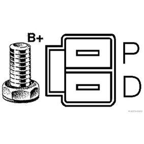 HERTH+BUSS JAKOPARTS Lichtmaschine J5113046