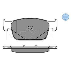 MEYLE Kit de plaquettes de frein, frein à disque 8W0698151Q pour VOLKSWAGEN, AUDI, SEAT, SKODA acheter