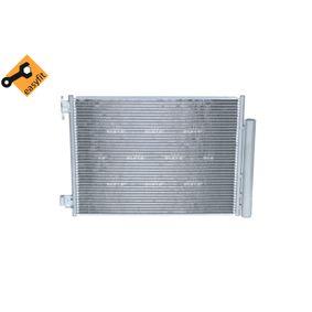 Kondensator, Klimaanlage NRF Art.No - 350357 OEM: 4535000054 für MERCEDES-BENZ, RENAULT, SMART kaufen