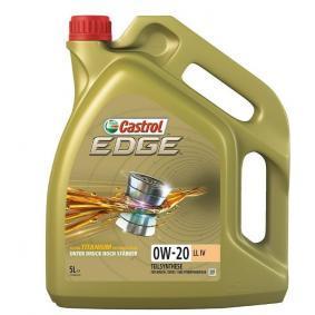 SAE-0W-20 Двигателно масло от CASTROL 15B1B3 оригинално качество
