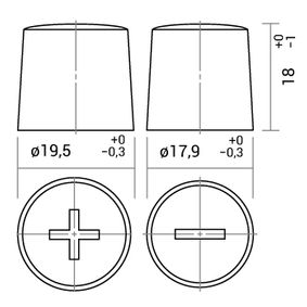 IPSA TME105 Starterbatterie OEM - 61218376384 BMW, MINI günstig