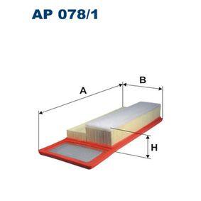 Filtro de aire FILTRON (AP 078/1) para FIAT GRANDE PUNTO precios