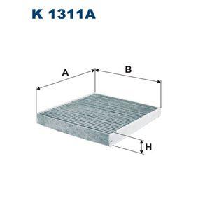 FILTRON VW GOLF Innenraumfilter (K 1311A)