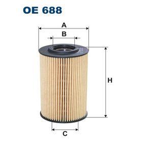 OE 688 Motorölfilter FILTRON für VW CRAFTER 2.0 TDI 109 PS zu niedrigem Preis