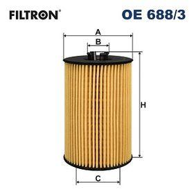 FILTRON VW GOLF Ölfilter (OE 688/3)