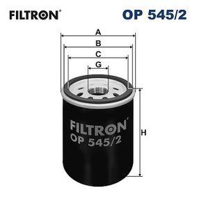 FILTRON LANCIA YPSILON Ölfilter (OP 545/2)