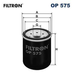 FILTRON HONDA CIVIC Filtro de aceite (OP 575)