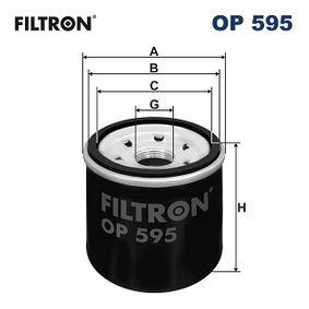 FILTRON NISSAN X-TRAIL Filtro de aceite (OP 595)