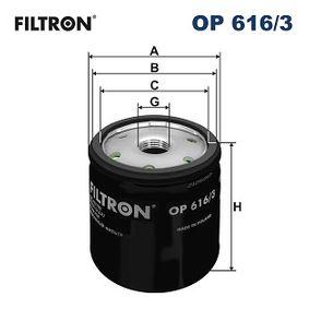 FILTRON Ölfilter OP 616/3