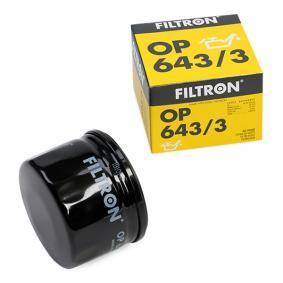 CLIO II (BB0/1/2_, CB0/1/2_) FILTRON Motorölfilter OP 643/3