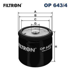 FILTRON RENAULT TWINGO Ölfilter (OP 643/4)