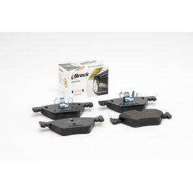 BRECK Bremsbelagsatz, Scheibenbremse 34116797859 für BMW bestellen