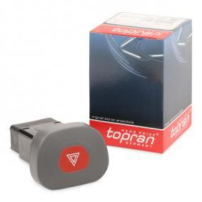 CLIO II (BB0/1/2_, CB0/1/2_) TOPRAN Warnblinkschalter 701 788