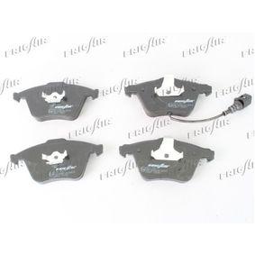 Bremsbelagsatz, Scheibenbremse FRIGAIR Art.No - PD10.518 OEM: 1K0698151B für VW, AUDI, FORD, SKODA, NISSAN kaufen