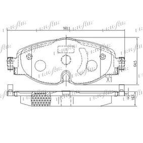 FRIGAIR Kit de plaquettes de frein, frein à disque 8V0698151D pour VOLKSWAGEN, AUDI, SEAT, SKODA acheter