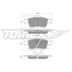 Bremsbelagsatz, Scheibenbremse TOMEX brakes Art.No - TX 15-251 OEM: 77366915 für FIAT, ALFA ROMEO, LANCIA kaufen