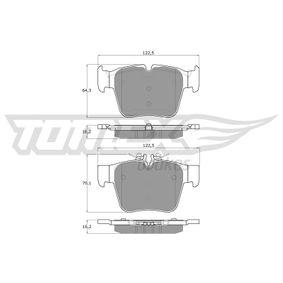 Bremsbelagsatz, Scheibenbremse TOMEX brakes Art.No - TX 18-54 OEM: A0004205900 für MERCEDES-BENZ kaufen