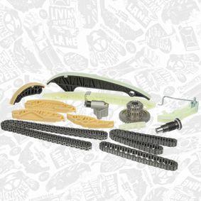 D176404A2 за VW, AUDI, SKODA, SEAT, Комплект ангренажна верига ET ENGINETEAM (RS0069) Онлайн магазин
