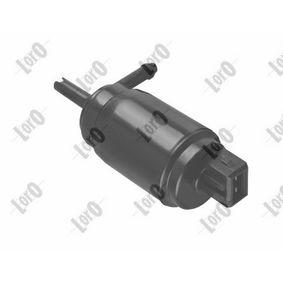 Bomba de limpiaparabrisas ABAKUS (103-02-006) para OPEL VECTRA precios
