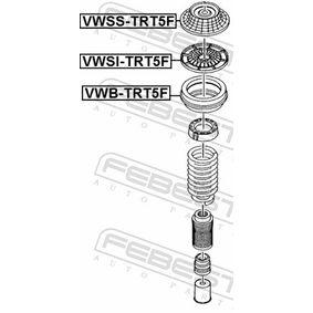 FEBEST Lagerung, Stoßdämpfer 7E0412331A für VW, AUDI, SKODA, SEAT bestellen
