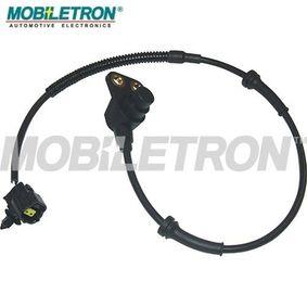 Sensor, Raddrehzahl MOBILETRON Art.No - AB-EU428 OEM: 96316715 für OPEL, CHEVROLET, DAEWOO, DAF kaufen