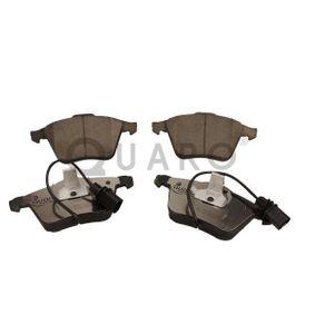 Bremsbelagsatz, Scheibenbremse QUARO Art.No - QP0067C OEM: 4F0698151B für VW, AUDI, SKODA, SEAT kaufen