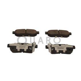 Комплект спирачно феродо, дискови спирачки QUARO Art.No - QP0406C OEM: GBP90316AF за HONDA, SKODA, ROVER, MG купете