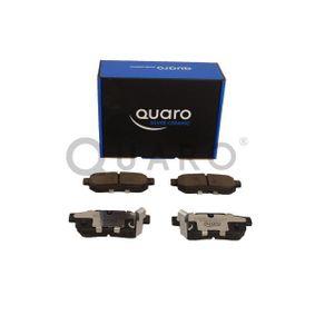 QUARO Комплект спирачно феродо, дискови спирачки GBP90316AF за HONDA, SKODA, ROVER, MG купете
