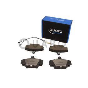 QUARO Bremsbelagsatz, Scheibenbremse 7701201773 für RENAULT, PEUGEOT, CITROЁN, DACIA, LADA bestellen