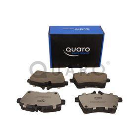 QUARO Bremsbelagsatz, Scheibenbremse 1694202120 für MERCEDES-BENZ bestellen