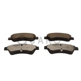 Brake Pad Set, disc brake QUARO Art.No - QP2989C OEM: 1613192280 for PEUGEOT, CITROЁN, DS, PIAGGIO buy