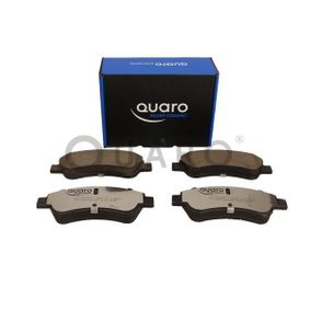 QUARO Brake Pad Set, disc brake 1613192280 for PEUGEOT, CITROЁN, DS, PIAGGIO acquire