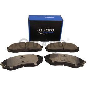 QUARO Bremsbelagsatz, Scheibenbremse 581014DE00 für HYUNDAI, CITROЁN, KIA, AUSTIN bestellen